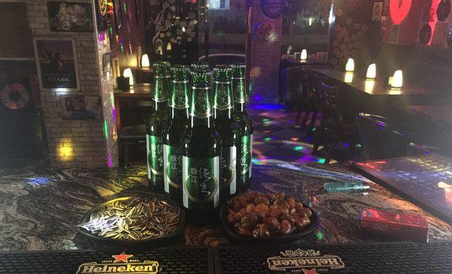 【mz bar酒吧】珠江青岛(6瓶)小吃(3份)1份,提供免费wifi,精致美味