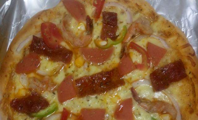 :长沙今日团购:【在水一方披萨店】两至三人套餐(除榴莲披萨外十寸任选一款),提供免费WiFi