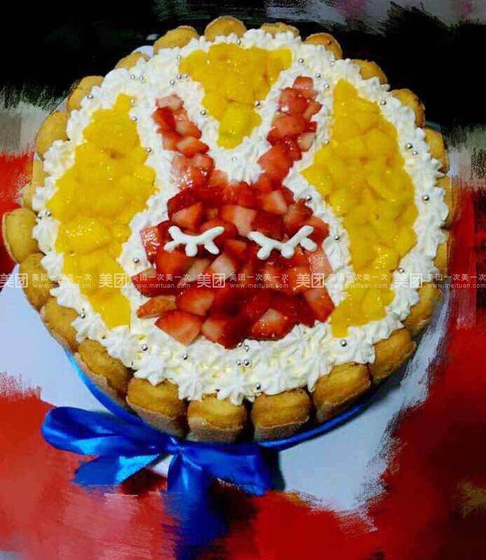 幼儿园蛋糕盘水果手工制作
