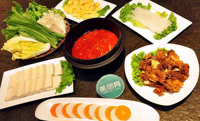 2人韩式牛排火锅,包间免费,提供免费wifi