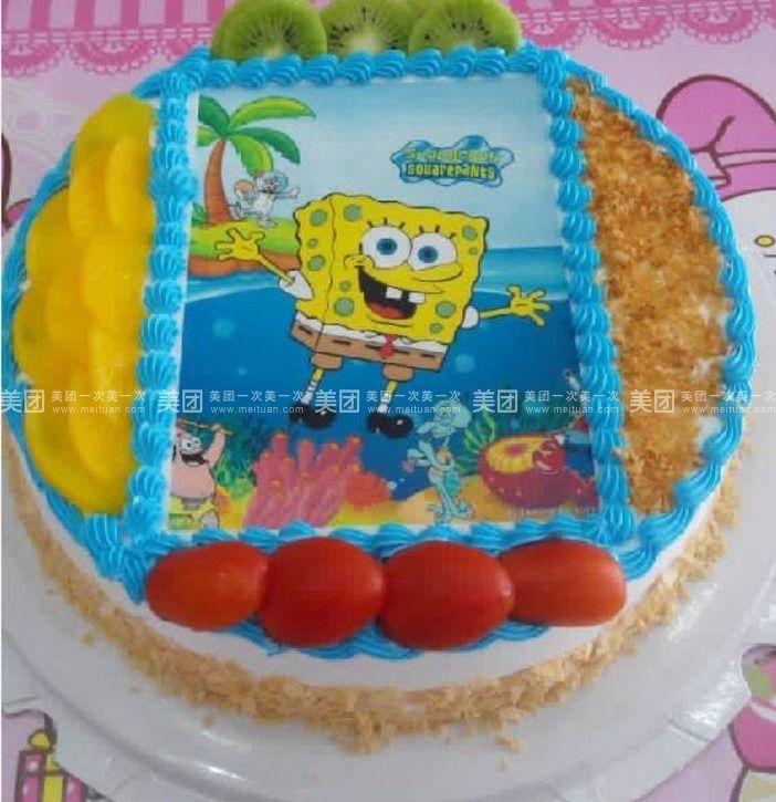 手绘海贼王艾斯蛋糕图片