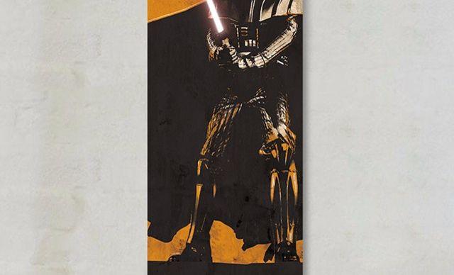 :全国今日团购:【墙蛙《星球大战》海报装饰画卷轴画】墙蛙星战海报装饰画卷轴画,全国包邮!