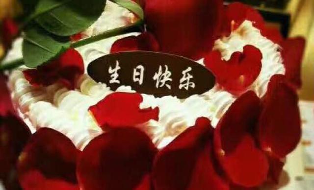 :长沙今日团购:【榴芒先生】玫瑰花蛋糕1个,约8英寸,圆形