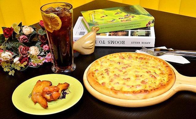 :长沙今日团购:【雷老虎水果捞】精美披萨套餐,建议2人使用,包间免费