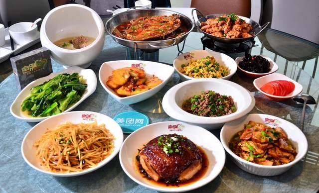 :长沙今日团购:【食膳田园时尚餐厅】8到10人餐,提供免费WiFi