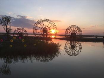 【掌政镇】黄河外滩景区票+观光车+羊皮筏子成人票-美团