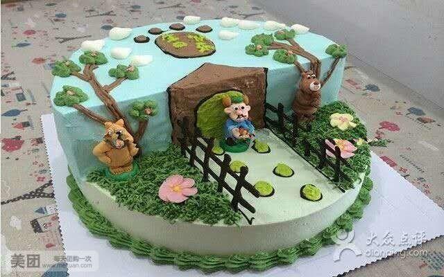 美食团购 蛋糕 泉山区 皇家cake外卖蛋糕    3d机器猫   3d机器猫