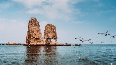 【潍坊出发】长岛九丈崖、月牙湾公园、望夫礁等2日跟团游-美团