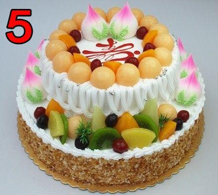 平顶山唯美蛋糕 市区内免费配送 2层双层水果蛋糕祝寿蛋糕欧式蛋糕十图片