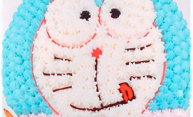 :长沙今日钱柜娱乐官网:【澳麦多伦】哆啦A梦卡通蛋糕1个,约6英寸,圆形
