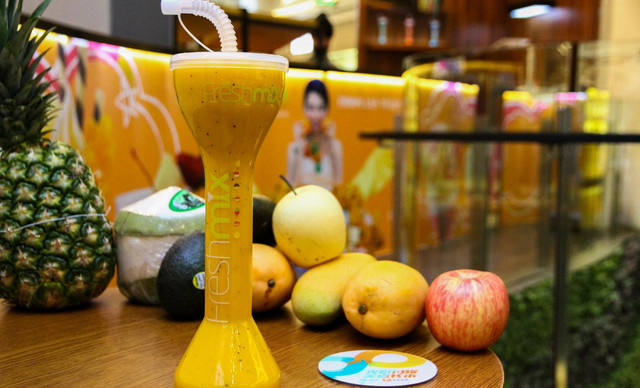 :长沙今日团购:【fresh mix鲜果优】饮品3选1,建议单人使用,提供免费WiFi