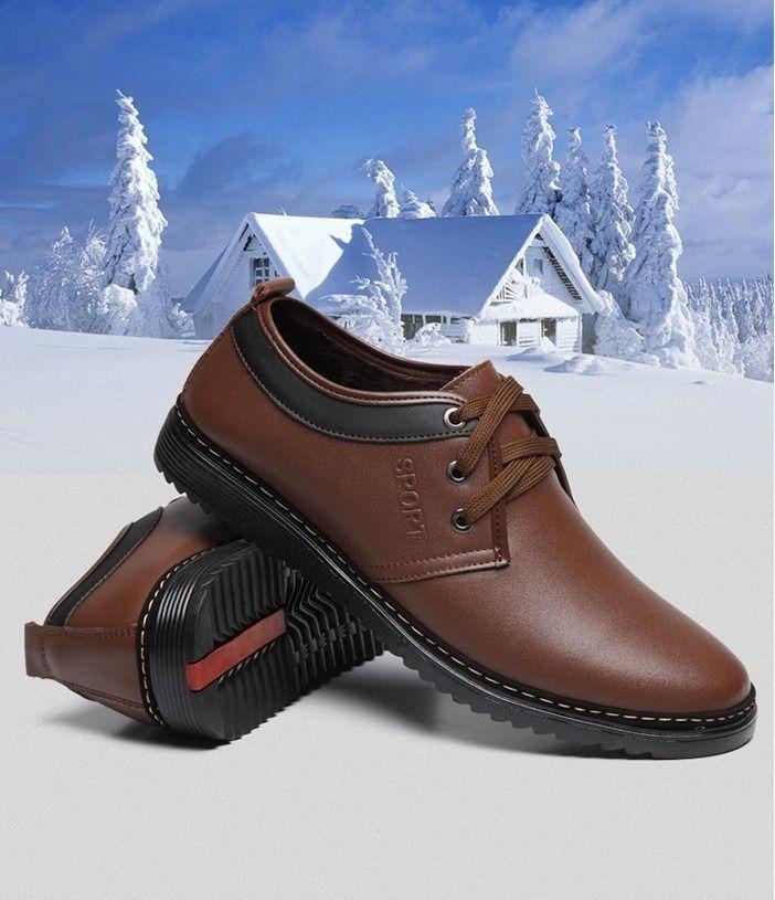 男士商务休闲皮鞋