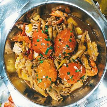 【北京】小林肉蟹煲台州海鲜-美团