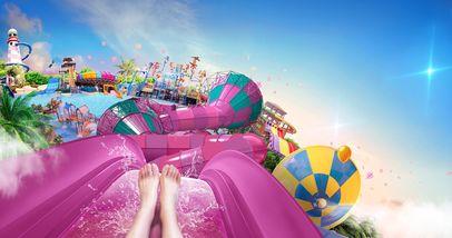 【泉山区】徐州乐园加勒比水世界夜场门票成人票-美团