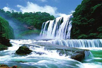 【贵阳出发】黄果树、大七孔景区、小七孔3日跟团游*爽爽贵阳、壮观景色-美团