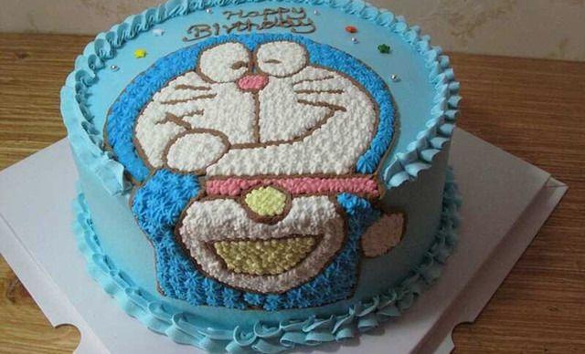 【丸子私房烘焙】卡通手绘蛋糕1个