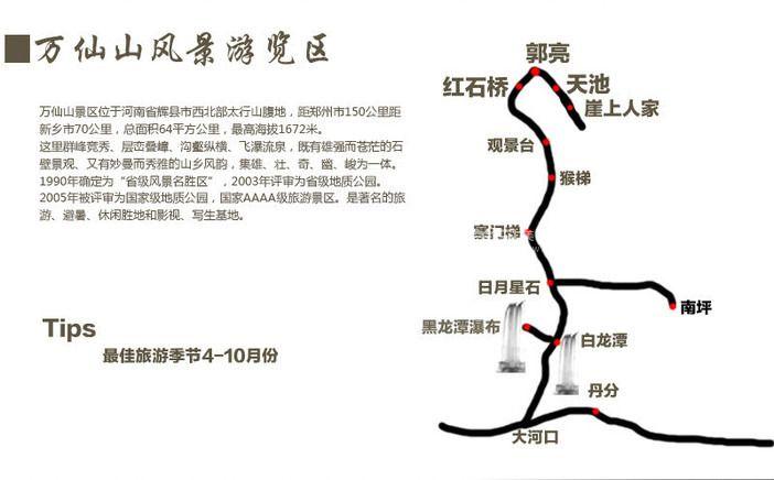 新乡宝泉风景区地图