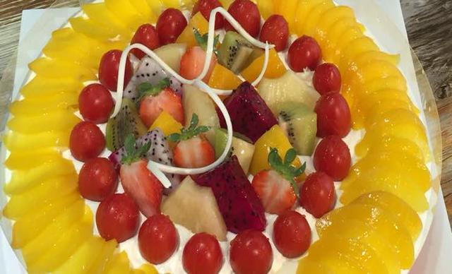 :长沙今日钱柜娱乐官网:【明祖蛋糕】生日蛋糕1个,约10英寸,圓型