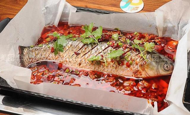 :长沙今日钱柜娱乐官网:【鱼塘漫步】烤鱼套餐,建议3人使用,提供免费WiFi