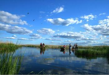 【长兴县】图影生态湿地文化园门票+船票(双人票)-美团