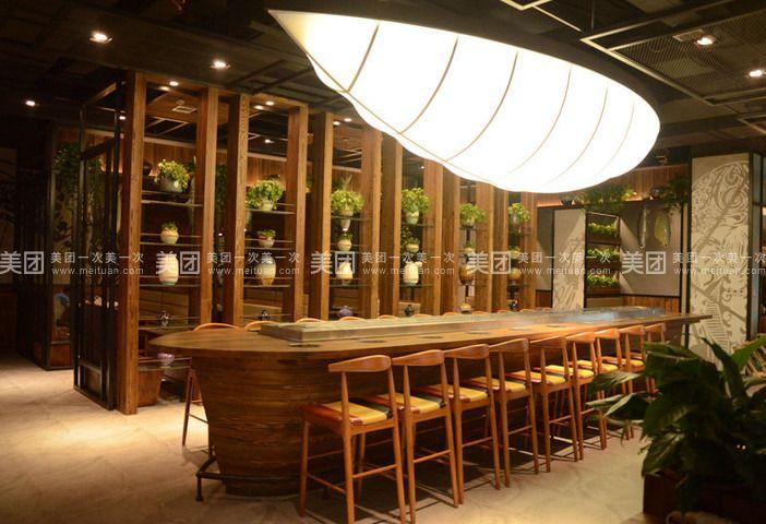 物美价更廉  位于大连柏威年购物中心5楼的海岛火锅店,是一家以即食