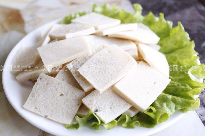 千叶豆腐-椒麻鸡加千页豆腐