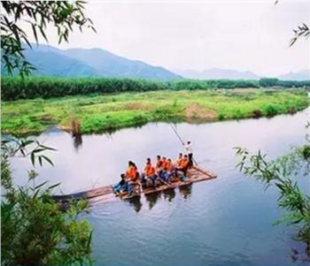【良渚】杭州双溪竹筏漂流门票+电瓶车+牛车(成人票)-美团