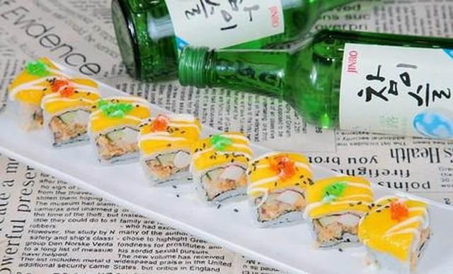 :长沙今日团购:【鲜目录外带寿司】单人双拼套餐,包间免费,提供免费WiFi