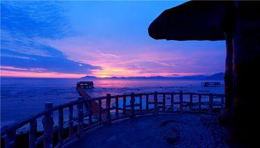 【天涯区】西岛旅游区门票+双程船票(双人票)-美团