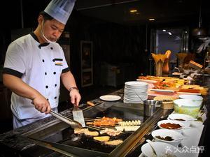 安徽饭店白鹭阁自助餐厅