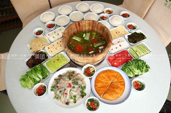 【昆明雅府正红木桶鱼团购】雅府正红木桶鱼8-10人餐