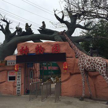 【东方广场】彩灯公园动物园-美团