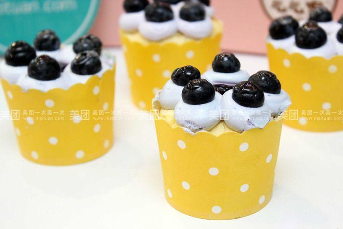 【常州么么家纸杯蛋糕团购】么么家纸杯蛋糕蓝莓公主