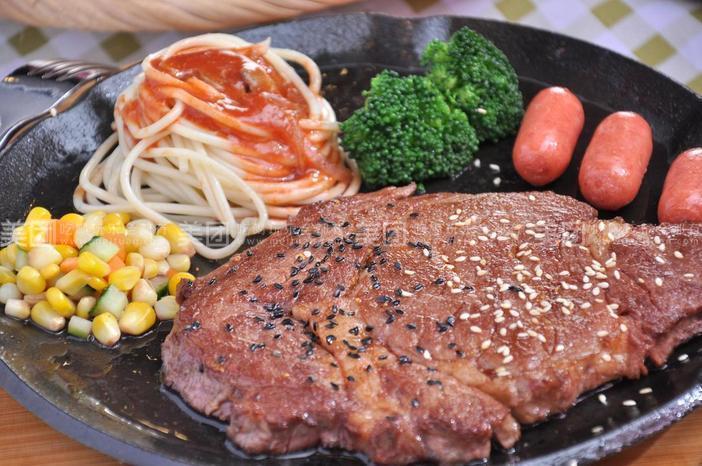 原味沙拉酱,千岛沙拉酱,蓝梅沙拉酱 美团推荐  豪约客牛排   豪
