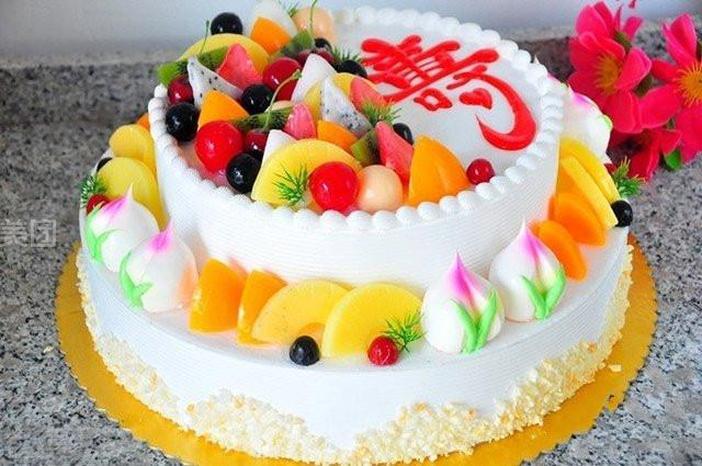 味美蛋糕怎么样_团购味美蛋糕12寸双层水果系列f-美团