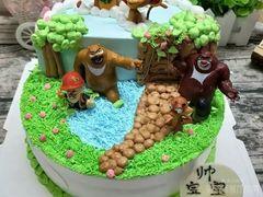 Wheat24创意蛋糕定制(望海国际店)的熊出没蛋糕