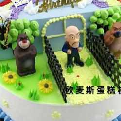 熊出没蛋糕