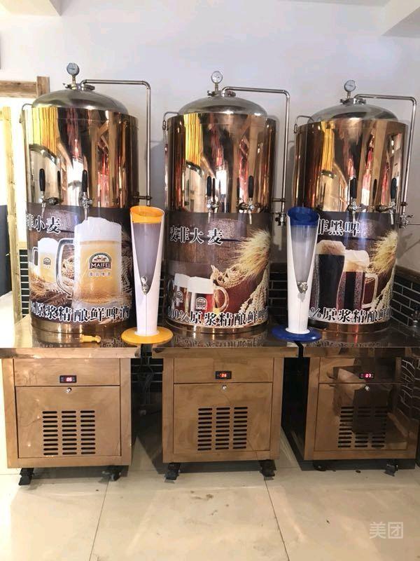 1、鲜榨啤酒机多少钱一台:鲜酿啤酒小型机多少钱