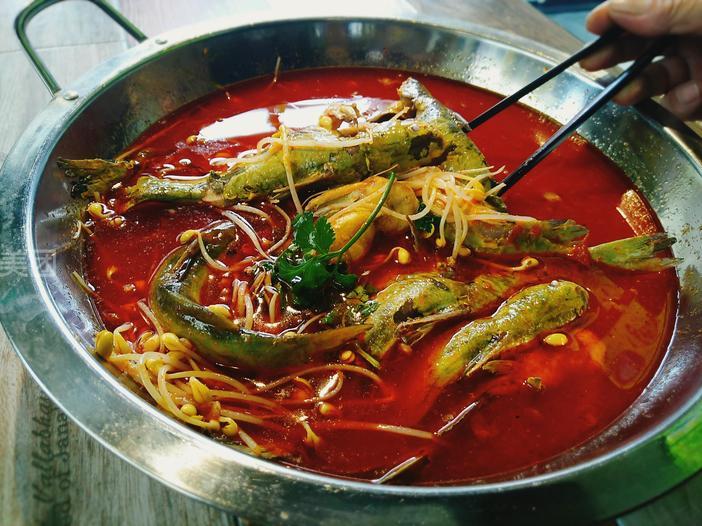 美食团购 火锅 黔三月遵义虾子羊肉粉        美味尽享  套餐内容