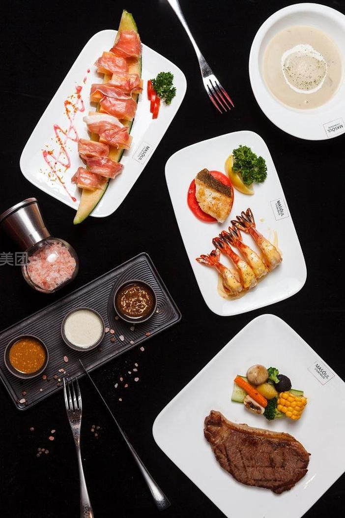 美食团购 西餐 工业园区 圆融时代广场 玛苏牛排坊   免费提供餐巾纸