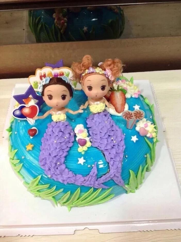54厘米   小可爱公主2号   元味蛋糕坊