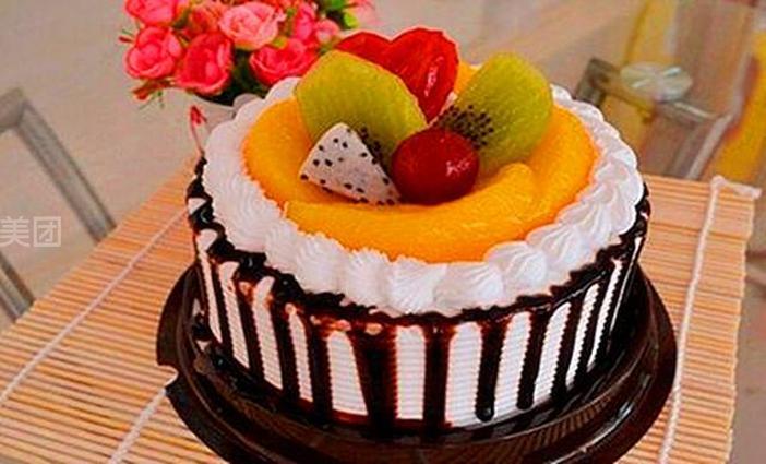 4寸欧式小蛋糕图片