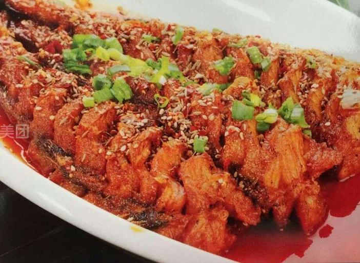 韩式辣鳕鱼图片