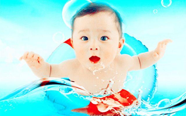 可爱可亲母婴生活婴儿游泳馆