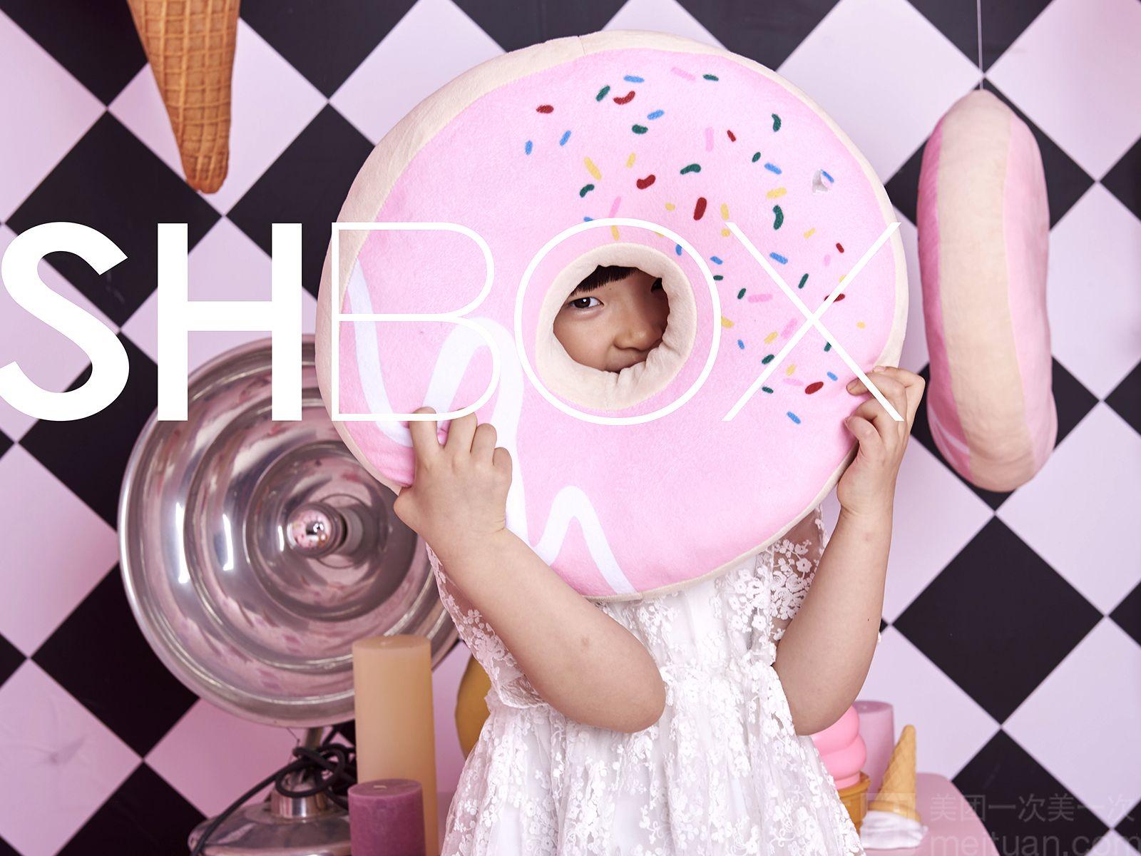【wishbox儿童主题派对/宝宝摄影】pink magic box魔法盒子创意摄影