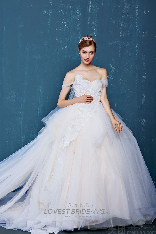 最高价值: 3920美团价:  搭配精致头纱,配合婚纱整体造型的手套或腕图片
