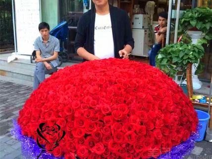 【2店通用】花起舞鲜花花起舞鲜花-999玫瑰花束后备箱