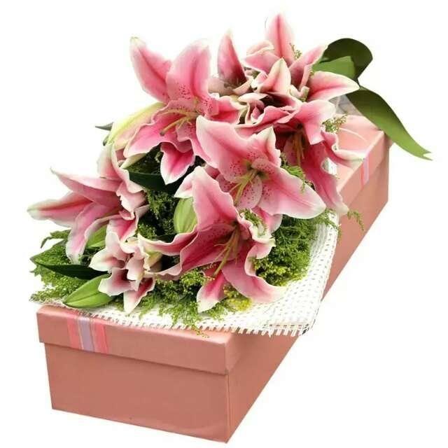 鲜花花语传情(红盖头花艺)-美团