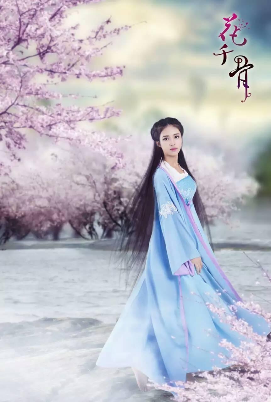 古风婚纱服装设计图