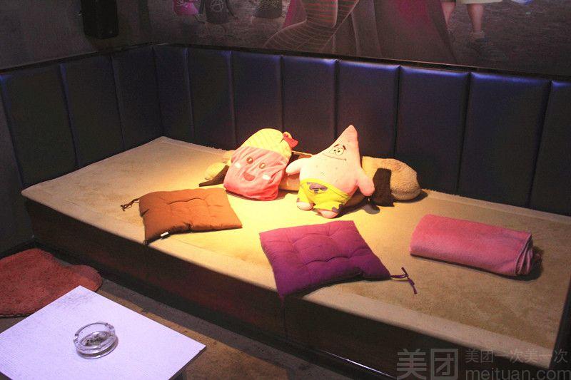 :长沙今日团购:【2306私人影院】情侣双人床吧通宵场